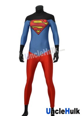 Superboy Costume | Printed Spandex Lycra Full Bodysuit