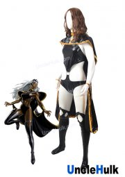 Storm Ororo Munroe X-Men Cosplay Costume Rubberized Fabric Bodysuit | UncleHulk