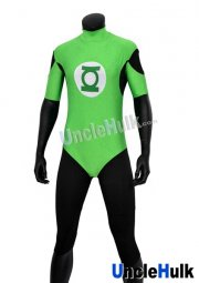 Green Lantern Fitness Wear Zentai Cosume