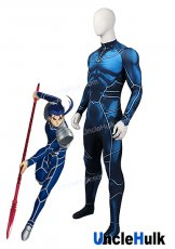 Lancer Cuchullain Spandex Lycra Cosplay Costume - Fate Stay Night | UncleHulk