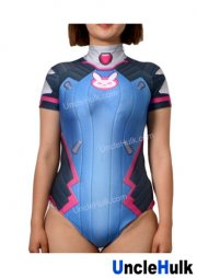 OverWatch D.VA Classic Blue Swimsuit