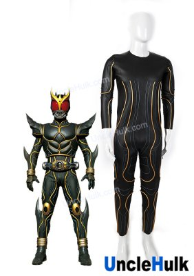 Masked Rider Kuuga Ultimate Form Cosplay Costume Diving Suit Fabric and Glueing Rope | UncleHulk