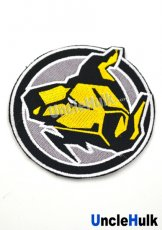 Hyakujuu Sentai Gaoranger Iron Bison Sew on Embroidered Patch