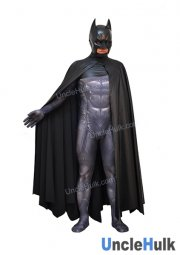 Superior Batman Lycra Zentai Costume (with cloak) (without helmet)