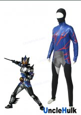 Kamen Rider Amazon Neo Costume Printed Spandex Lycra Cosplay Costume Power Ranger | UncleHulk