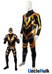 Goldust Costume - Shiny metallic Wrestling Outfit