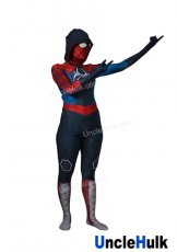 Red and Blue Spider Gwen Spandex Lycra Costume