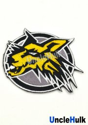 Hyakujuu Sentai Gaoranger Sparking Wolf Sew on Embroidered Patch
