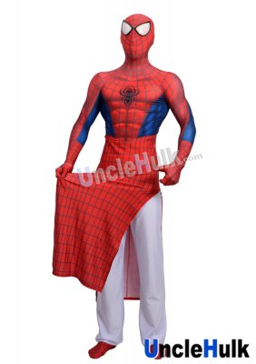India Spiderman Lycra Zentai Bodysuit Halloween Costume | UncleHulk
