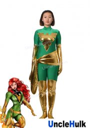 Jean Grey Phoenix X-Men Lycra Zentai Cosplay Bodysuit