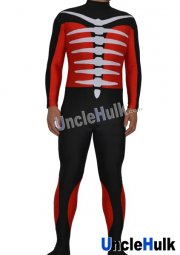 Kamen Rider Shocker Spandex Lycras Zentai Suit (Red & Black)