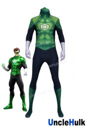 Green Lantern Lycra Zentai Costume (without eye patch)