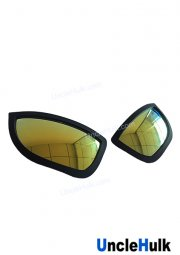 Rubber Spider-Man Lenses Spiderman Eyes Style 2 - Cosplay Props - ONLY lenses | UncleHulk