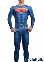 Superman Zentai Costume 5 (inclued cloak)
