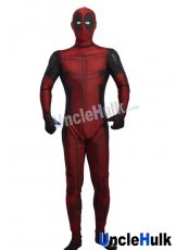 Classic Deadpool with Rubber Lens Lycra Zentai Bodysuit