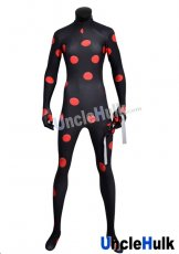 Antibug Printed Spandex Bodysuit with Honeycomb Pattern | Miraculous Ladybug