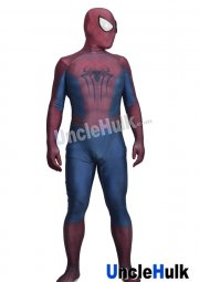 The Amazing Spiderman 2 Dazzle Light Lycra Zentai Bodysuit (include lenses)