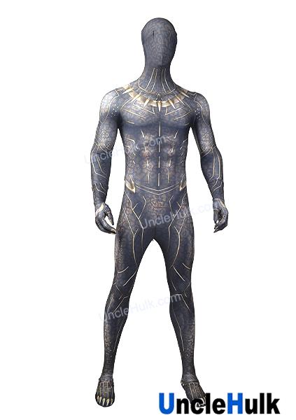 Erik Killmonger Golden Jaguar Movie Black Panther 2018 Lycra Spandex