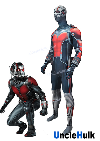 Ant-Man Cosplay Costume Lycra Suit and Accessories 2015 Marvel Movie Ant-Man   729c44100cf9