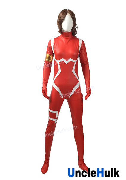 Zero Two Darling In The Franxx Costume Cosplay Rubberized Fabric