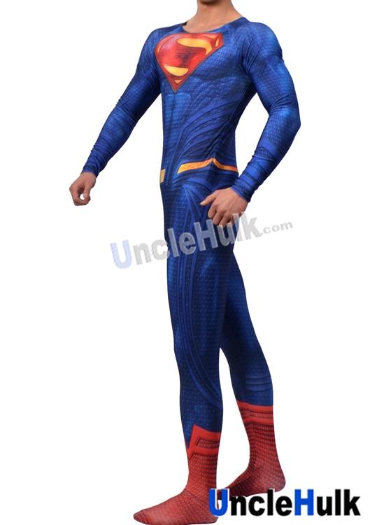 Superman Zentai Costume 6 (include cloak and Kungfu shoes