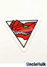 ZyudenSentai Kyuryuger Logo Sew on Patch