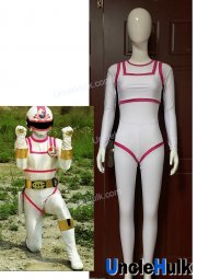 J.A.K.Q.Dengekitai White Change Mermaid Cosplay Bodysuit | UncleHulk