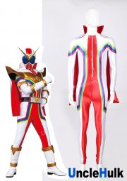 Kikai Sentai Zenkaiger Cosplay Bodysuit - with cloak and inner hood | UncleHulk